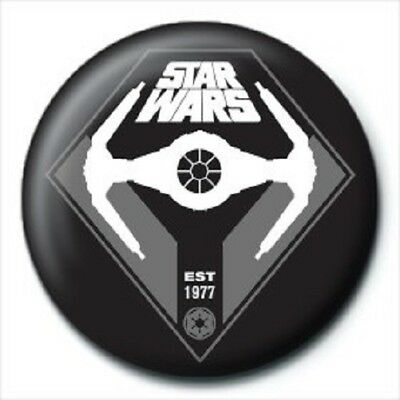 STAR WARS est 1977 - BUTTON BADGE official licensed merchandise SW10
