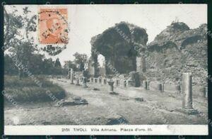 Roma-Tivoli-Villa-Adriana-Piazza-d-039-Oro-NPG-Foto-cartolina-RT4311