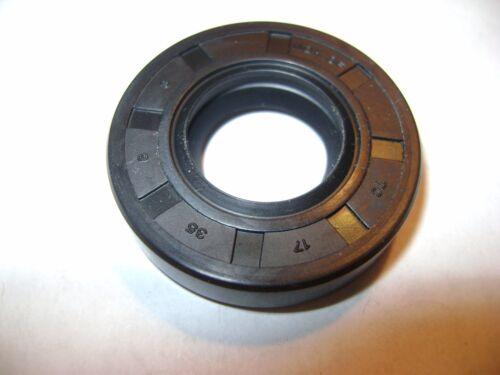 NEW TC 17X35X8 DOUBLE LIPS METRIC OIL DUST SEAL 17mm X 35mm X 8mm