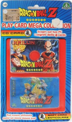 Dragon Ball Z KRILLIN Play Card Mega collection Cd Card