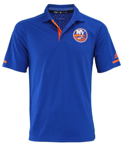 Adidas NHL Men/'s New York Islanders 2017 Authentic Locker Room Polo Shirt