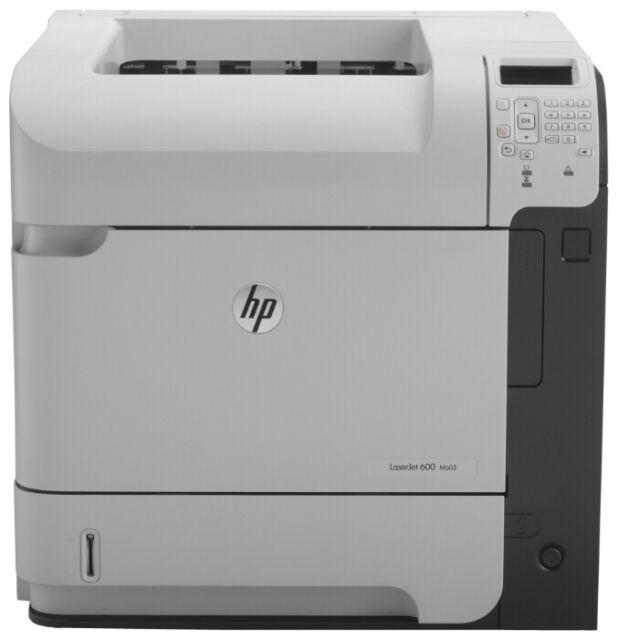 HP LaserJet 600 M603DN Laserdrucker Drucker mit Duplex und Netzwerk