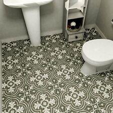 Vintage Floor Tiles 25 Pc Ceramic Wall Tile Kitchen Bathroom Flooring Home Decor
