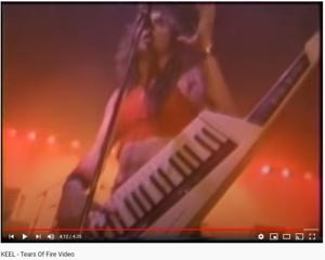 Ron-Keel-034-Tears-Of-Fire-Final-Frontier-034-Remote-Keyboard-1986-Korg-RK1