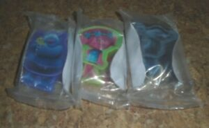 *SEALED* TROLLS CHEERIOS PROMOTIONAL TOY FOR 2015 MOVIE LOT OF 3 CHEERIOS (BIN4)