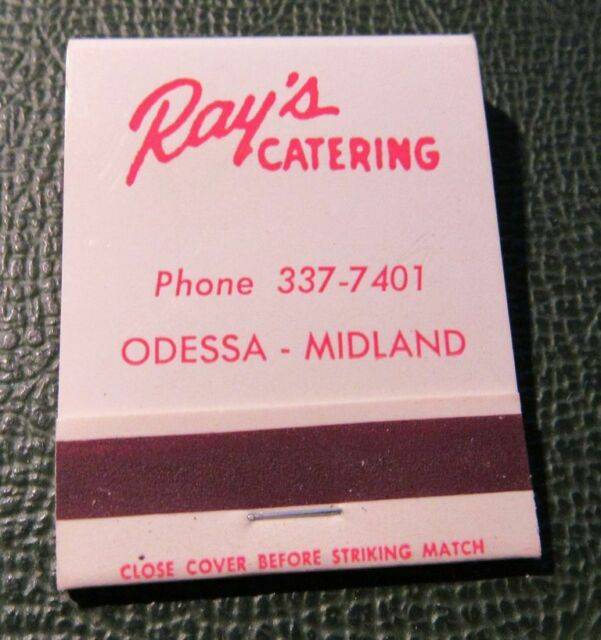 Matchbook - Ray's Catering Odessa Midland TX FULL