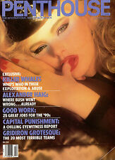 PENTHOUSE October 1989  The Sex Dance Girl-Girl, Alexander Haig, Killer Whales