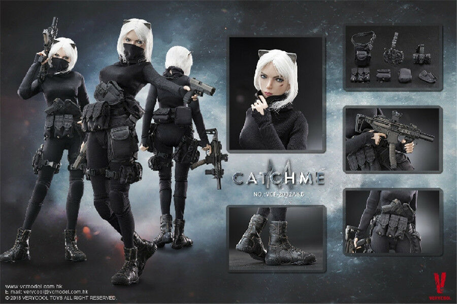 VERYCOOL VCF-2033 1/6 Female Assassin Series First Bomb Catch Me HOT FIGURE TOYS
