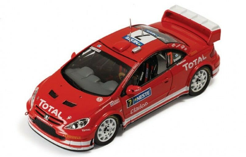 1 43 Peugeot 307 WRC  Total  Winners Rally 1000 Lakes Finland 2005 M.Gronholm