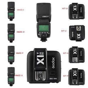 Godox-V860II-HSS-Flash-Speedlite-X1T-Trigger-for-Canon-Nikon-Sony-Olympus