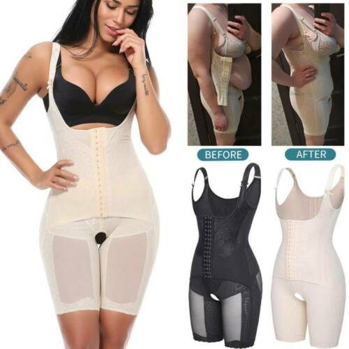 Details about  /Women Fajas Colombianas Reductoras Postpartum Recovery Surgery Mesh Body Shapers
