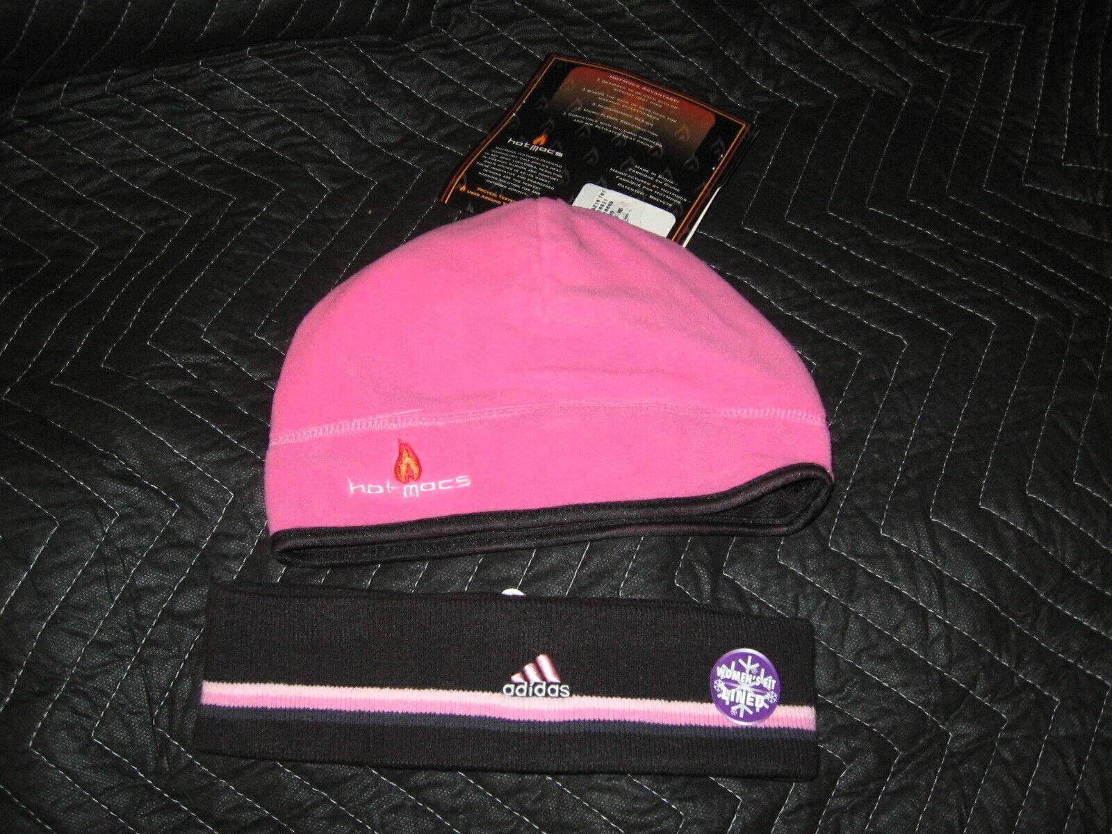 ! nuevo con etiquetas! Adidas Climawarm para mujer Sombrero Diadema Y Caliente Mocs!!!