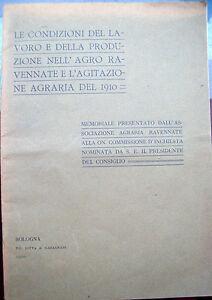 1910-RAVENNATE-RIVOLTA-AGRARIA-E-CONDIZIONI-DEI-CONTADINI-RARO-OPUSCOLO