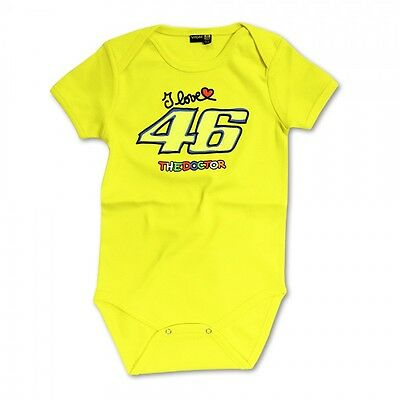 VRKBB 542 01 New Official Valentino Rossi VR46 Baby Body Suit