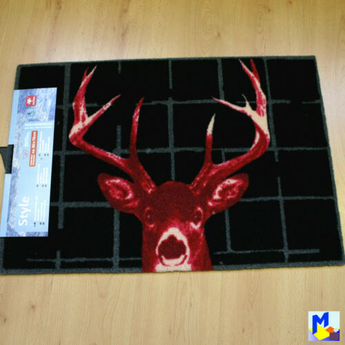 Astra Clean-Running Mat Doormat Stag 50x78 cm in 5 Variations Weidmannsheil