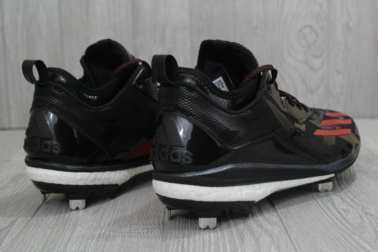 28 neue männer adidas symbol q16526 energieschubs symbol adidas 2.0 metall baseball - stollen größe 10,5 50e980