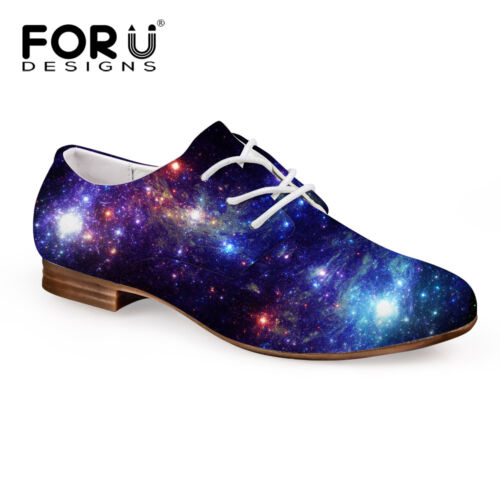 Galaxy Fiber Upper Oxford Casual Dress Shoes Men/'s Lace Up Loafers Comfort New