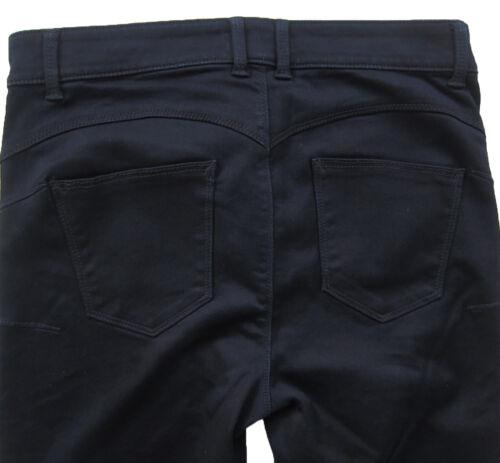 New Womens Marks /& Spencer Blue Perfect Shaper Jeggings Size 24 12 10 Med Short