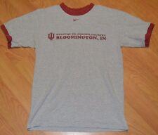 Indiana University Hoosiers Nike Retro Ringer T Shirt Small Bloomington Country