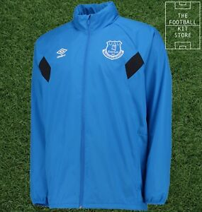 NUOVO Everton FC Umbro Training Giacca DOCCIA ELETTRICA adulto XL XLarge sponsorizzato