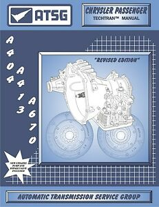 ATSG Mercedes 722.6 Automatic Transmission Rebuild Overhaul Service Shop Manual