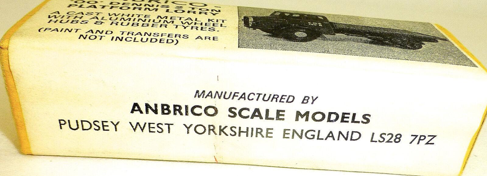 Oo Dennis 2 Tone Tone Tone Platform Lorry Metal Set Kit Anbrico Scale Models 1aa68a