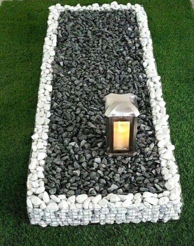 120 x 60 x12cm Grabumrandung Grabeinfassung Urnengrab Einfassung Urnenumrandung