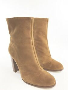 marron Sz Vgc chaussure cheville en d'hiver la Noholita à daim Eu40 Bottes Uk7 daim femmes pour qUZvXwx