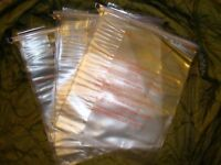 Lot Of Three (3) Us Military Waterproof Gas Mask Dry Bags -
