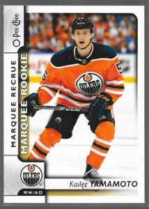 17-18-O-Pee-Chee-Marquee-Rookie-RC-Kailer-Yamamoto-611-Oilers