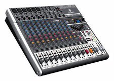 Behringer XENYX X1832USB 18-Channel Live Sound Mixer Board with USB & Effects