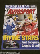 AUTOSPORT - SOPER FLIES THE GT FLAG - APRIL 17 1997
