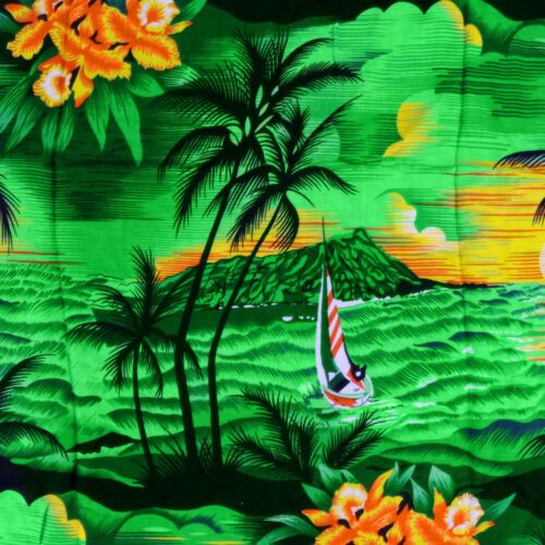 Small GREEN HAWAIIAN SHIRT Men/'s Stag Festival Beach Pool Summer Holiday Fancy