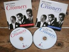 Classic Crooners Vol 1 & 2 CDs Sinatra, Astaire, Crosby, Martin many more