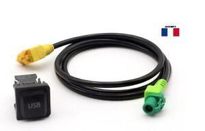 Commutateur-Prise-USB-Cable-pour-VW-Scirocco-Jetta-Golf-MK6-RCD510-RNS315-AC519