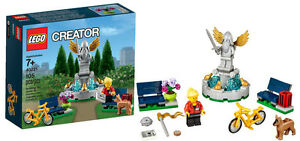 LEGO CREATOR 40221 Fountain - la fontaine du parc EXCLUSIVE*NEUF*NEW*collec CITY