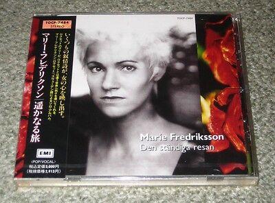 ROXETTE Marie Fredriksson SEALED Japan PROMO solo CD obi DEN STANDIGA more liste