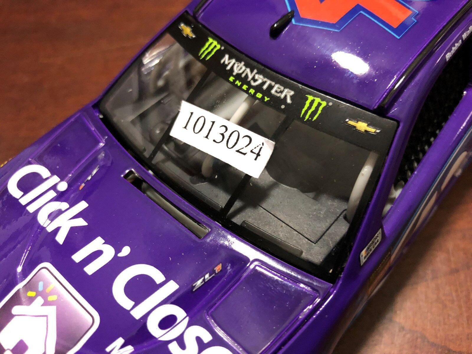 2018 Bubba Darrell Wallace Jr Click N cerca 1st projootipo novato coche Daytona 500