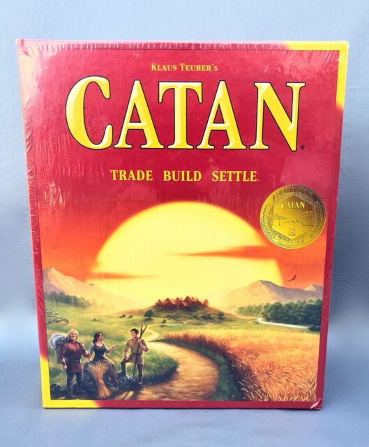 MFG3071 for sale online Catan Trade Build Settle Board Game