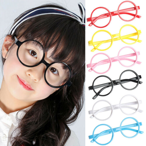 Cute Children Kids Round Glasses Frame Ultra Light Candy Color Spectacle Frames