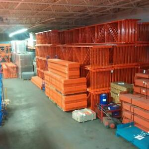 New and used pallet racking - why waste time looking elsewhere we have new and used in stock - quick ship availble Kitchener Area Preview