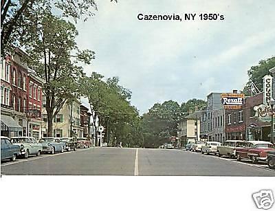 MO   Post Card Magnet St 1950/'s Joplin Scene