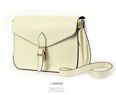 Women Girl Vintage Fashion Satchel PU Leather Handbag Shoulder Bag Totes Purse