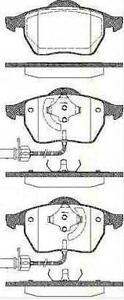 Jeu-Plaquette-Frein-AV-TRISCAN-AUDI-A4-8D2-B5-2-4-quattro-163-CH