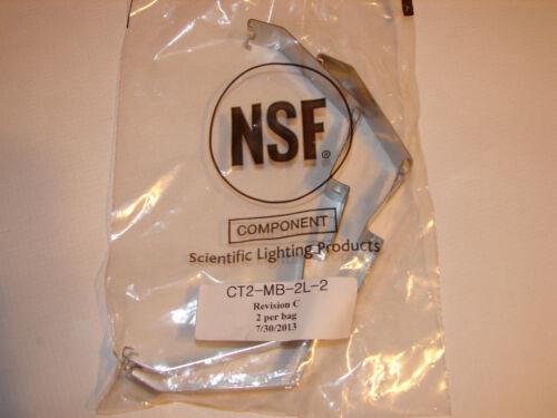 Box of 20 Scientific Lighting Products Vaportite Brackets 55313 CT2-MB-2L-2