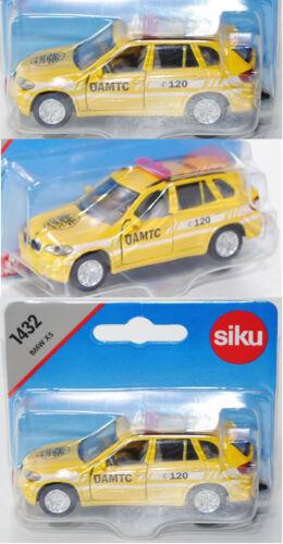 ÖAMTC soccorso stradale Siku Super 1432 BMW x5 4.8i