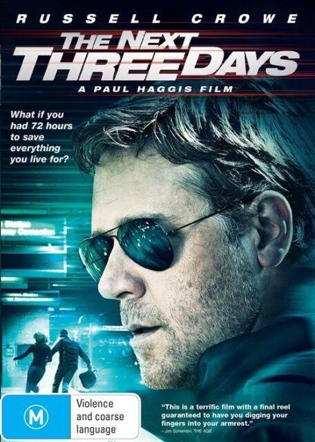 The Next Three Days (DVD, 2015)