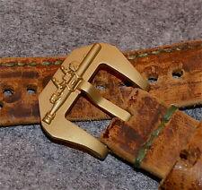 Torpedo Schließe Buckle 26mm Reine Bronze für Panerai Pam usw. NEU UNGETRAGEN