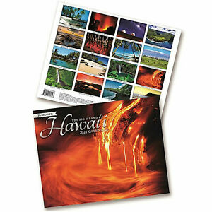 Hawaii 2021 Calendar The Big Island 16 Month Deluxe Edition