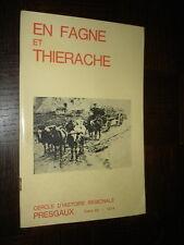 EN FAGNE ET THIERACHE - Tome 25 - 1974 - Presgaux Belgique